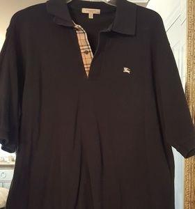 Burberry authentic short sleeve shirt worn
